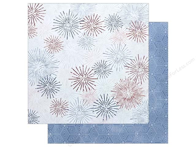 """Pink Paislee Collection Sweet Freedom Paper 12""""x 12"""" #3 (25 pieces)"""