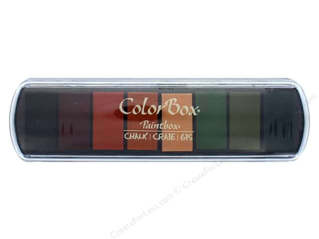 ColorBox Fluid Chalk Ink Pad Paintbox Cornucopia
