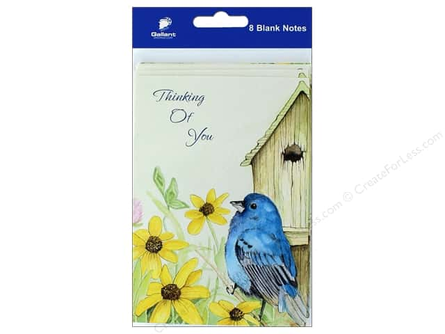 Gallant Greetings Thinking Of You Card 8ct Bird