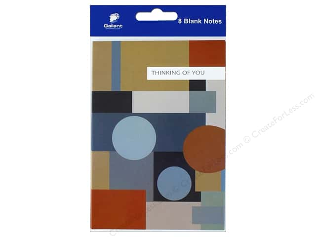 Gallant Greetings Thinking Of You Card 8ct Geometric