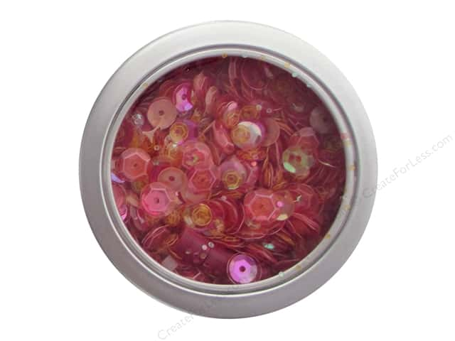 Buttons Galore 28 Lilac Lane Sequin Tin Grandma's Roses