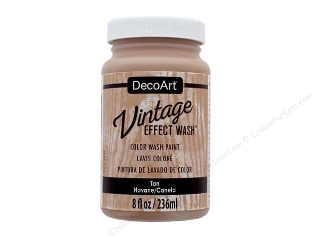 Decoart Vintage Effect Wash 8 oz. Tan