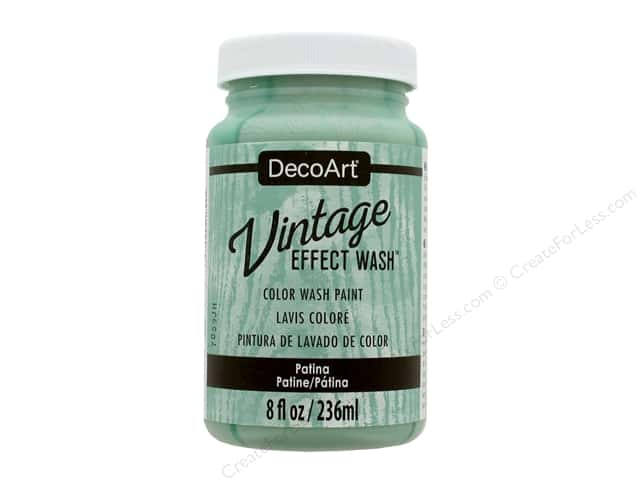 Decoart Vintage Effect Wash - Patina 8 oz.