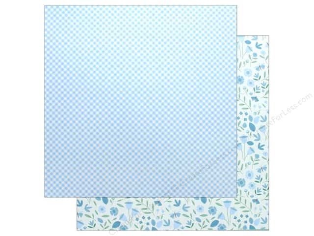 "Pebbles Collection Lullaby Paper 12""x 12"" Baby Boy Blossoms (25 pieces)"