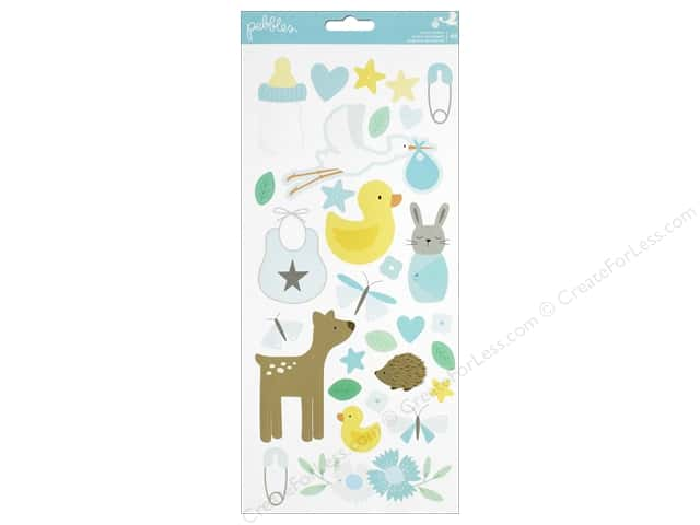 Pebbles Collection Lullaby Sticker Boy