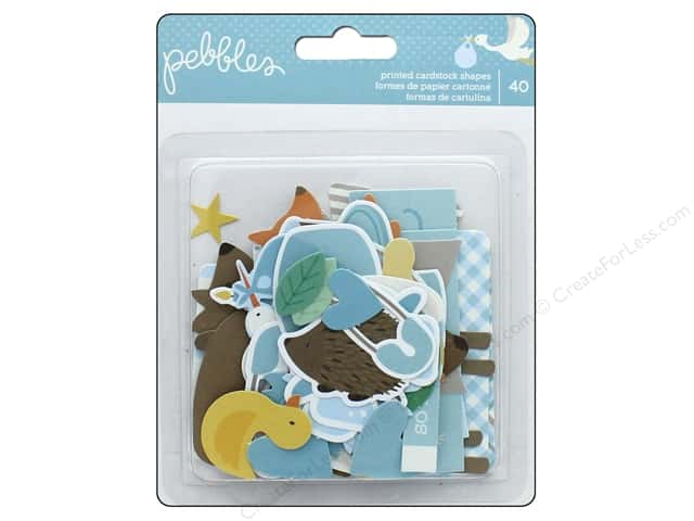 Pebbles Collection Lullaby Ephemera Boy