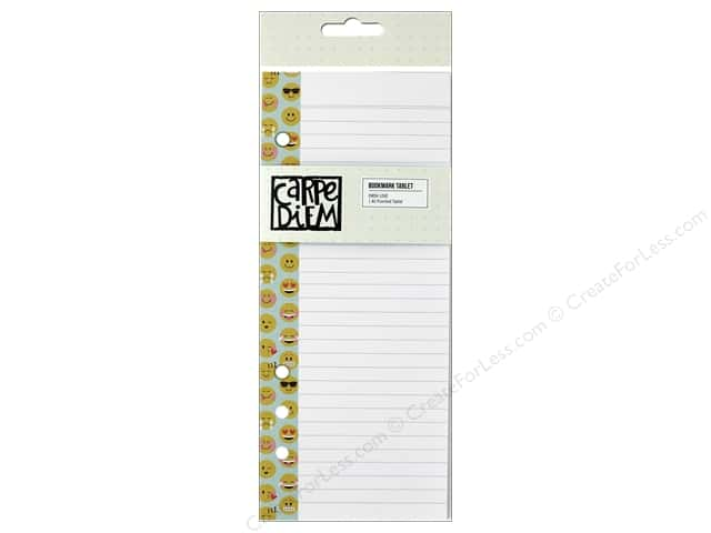 Simple Stories Collection Emoji Love Carpe Diem Bookmark Tablet