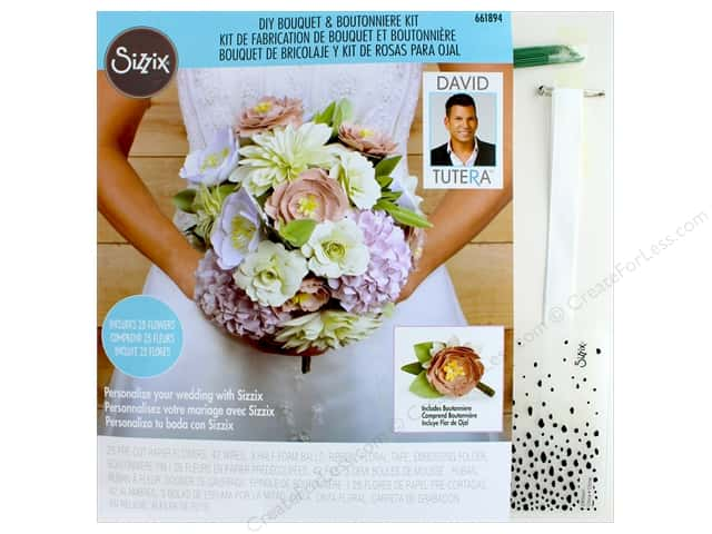 Sizzix Kit David Tutera DIY Bouquet & Boutonniere