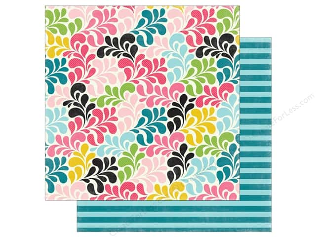"Echo Park Collection Summer Fun Paper 12""x 12"" Splash Into Summer (25 pieces)"
