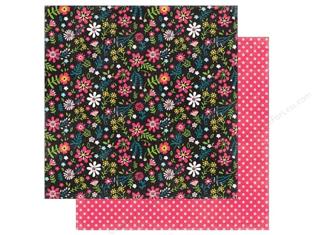 """Echo Park Collection Summer Fun Paper 12""""x 12"""" Summer Blossoms (25 pieces)"""