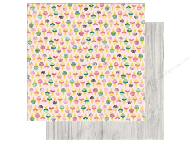 "Echo Park Collection Summer Fun Paper 12""x 12"" Sweet Treats (25 pieces)"