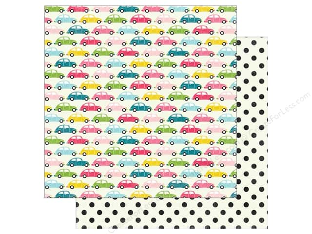 "Echo Park Collection Summer Fun Paper 12""x 12"" Summer Road Trip (25 pieces)"
