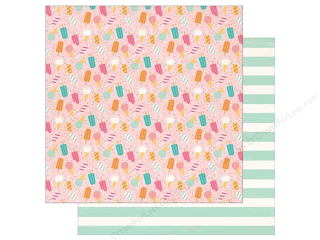 "Echo Park Collection Summer Dreams Paper 12""x 12"" Sweet As Summer (25 pieces)"