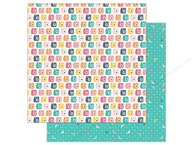 """Echo Park Collection Summer Dreams Paper 12""""x 12"""" Say Cheese (25 pieces)"""
