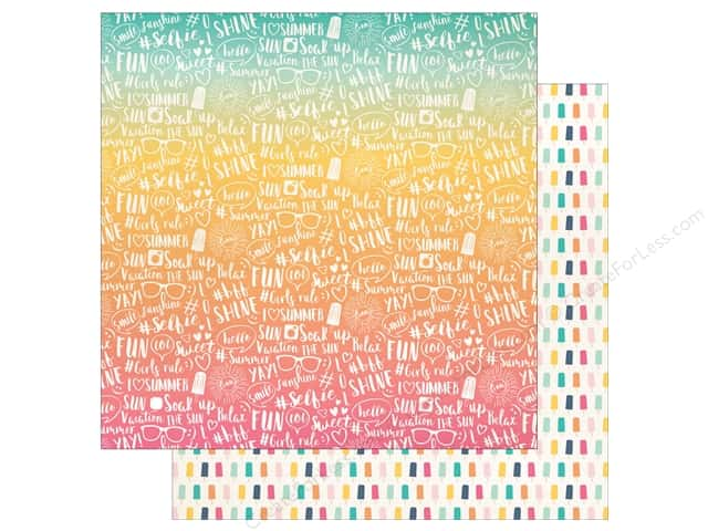 "Echo Park Collection Summer Dreams Paper 12""x 12"" Summer Vacation (25 pieces)"