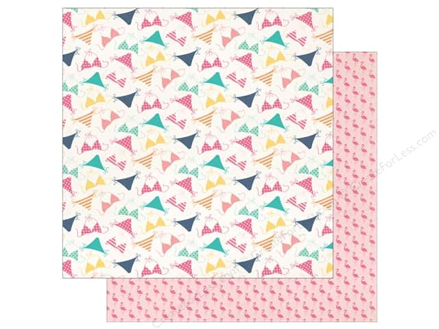 "Echo Park Collection Summer Dreams Paper 12""x 12"" Bikini Style (25 pieces)"