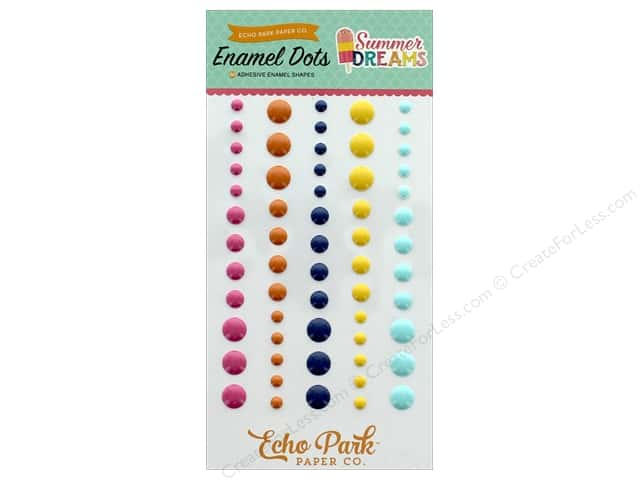 Echo Park Collection Summer Dreams Enamel Dots