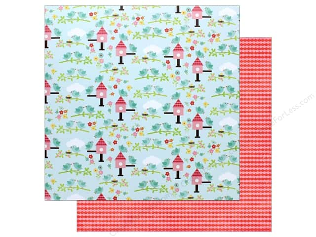 "Echo Park Collection Celebrate Spring Paper 12""x 12"" Spring Is Here (25 pieces)"