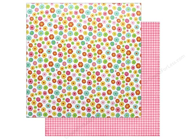 """Echo Park Collection Celebrate Spring Paper 12""""x 12"""" Blooming Flowers (25 pieces)"""
