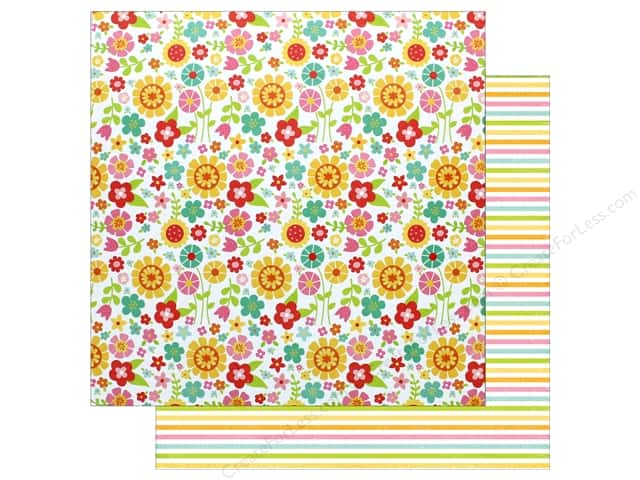 """Echo Park Collection Celebrate Spring Paper 12""""x 12"""" May Flowers (25 pieces)"""