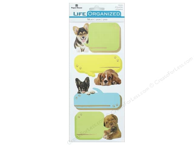 Paper House Collection Life Organized Sticker Label Playful Puppies