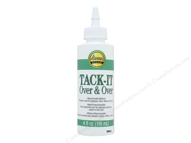 Aleene's Tack-It Over & Over Glue 4 oz.