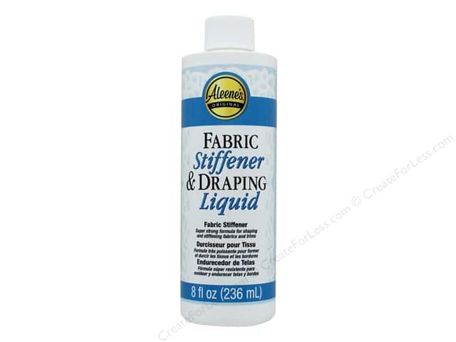 Aleene's Fabric Stiffener & Draping Liquid 8 oz.