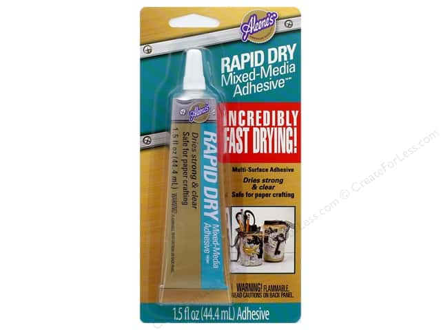 Aleene's Rapid Dry Mixed-Media Adhesive 1.5 oz.