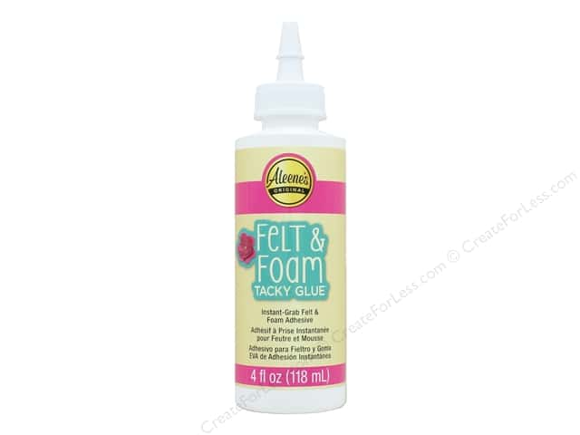 Aleene's Felt & Foam Tacky Glue 4 oz.