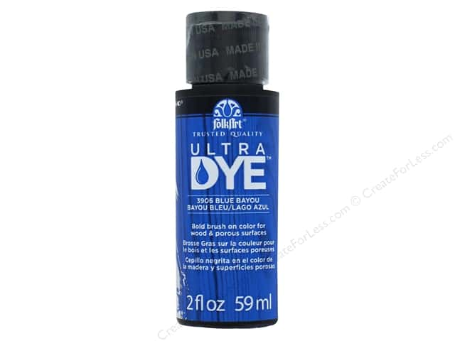 Plaid FolkArt Ultra Dye 2 oz. Blue Bayou
