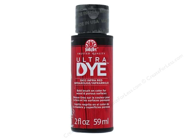 Plaid FolkArt Ultra Dye 2 oz. Infra Red