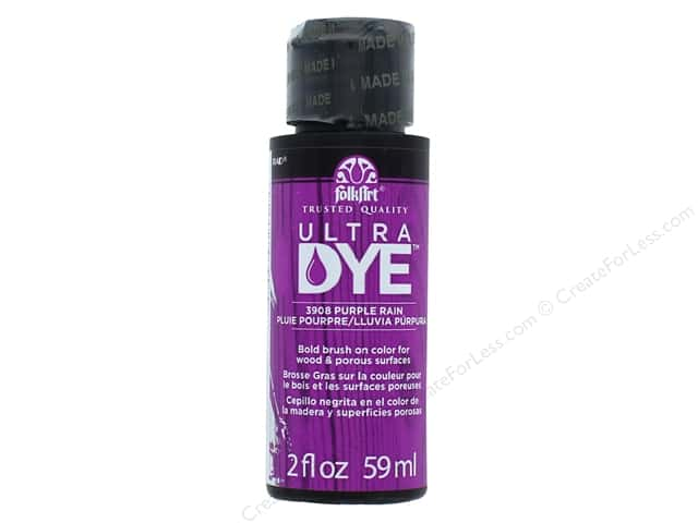 Plaid FolkArt Ultra Dye 2 oz. Purple Rain