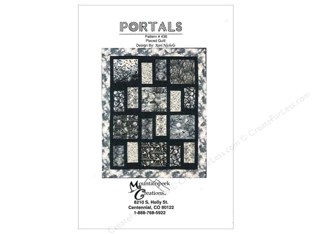Mountainpeek Creations Portals Pattern