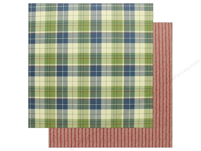 """Photo Play Collection Campfire Paper 12""""x 12"""" Flannel Shirt (25 pieces)"""