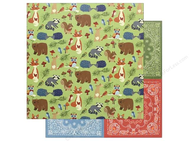 "Photo Play Collection Campfire Paper 12""x 12"" Woodland Critters (25 pieces)"