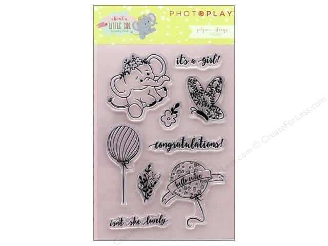 Photo Play Collection About A Little Girl Polymer Stamp