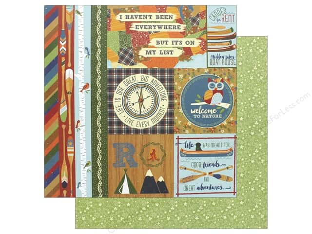 """Photo Play Collection Lakeside Paper 12""""x 12"""" Lakeside (25 pieces)"""