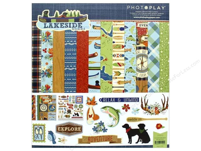 """Photo Play Collection Lakeside Collection Pack 12""""x 12 """""""