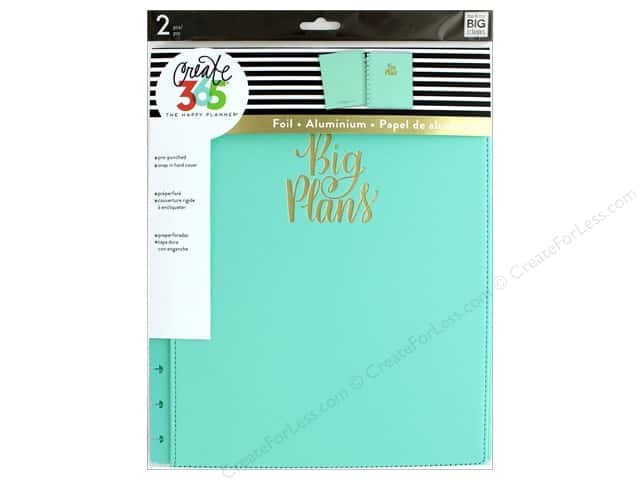 Me&My Big Ideas Create 365 Happy Planner Cover Snap In Big Turquoise