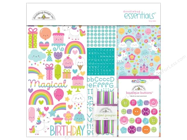 Doodlebug Collection Fairy Tales Essentials Kit