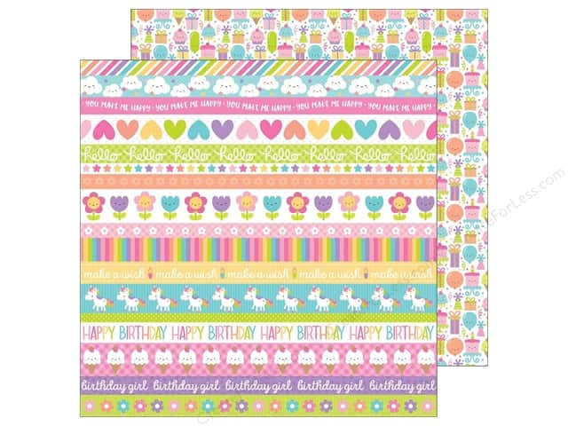 Doodlebug 12 x 12 in. Paper Fairy Tales Sweet Celebration