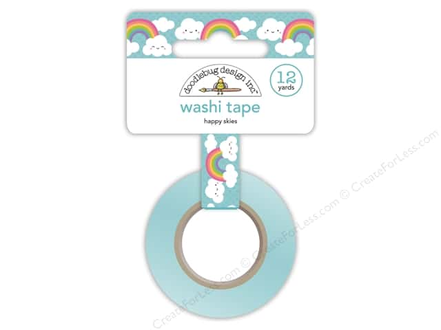 Doodlebug Collection Fairy Tales Washi Tape Happy Skies