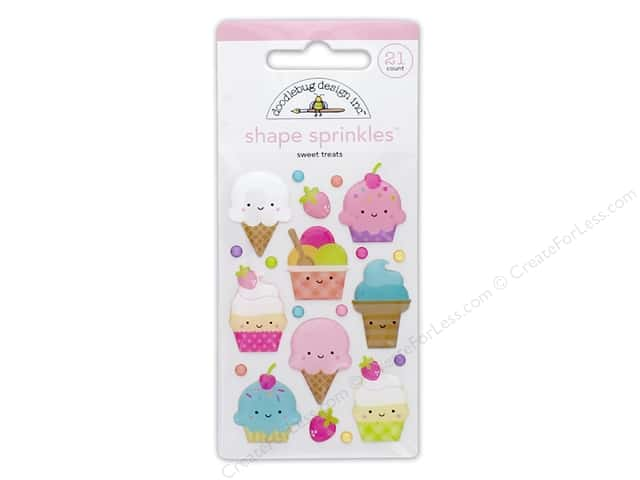 Doodlebug Collection Fairy Tales Sprinkles Shape Sweet Treats