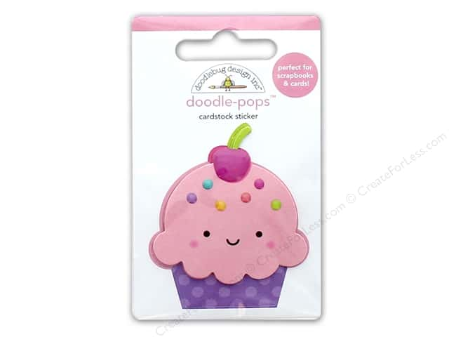 Doodlebug Collection Fairy Tales Doodle Pops Cute Cake