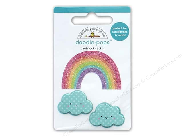Doodlebug Collection Fairy Tales Doodle Pops Over The Rainbow