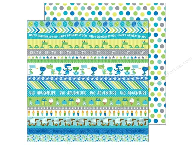 """Doodlebug Collection Dragon Tails Paper 12""""x 12"""" Dragon Dots (25 pieces)"""