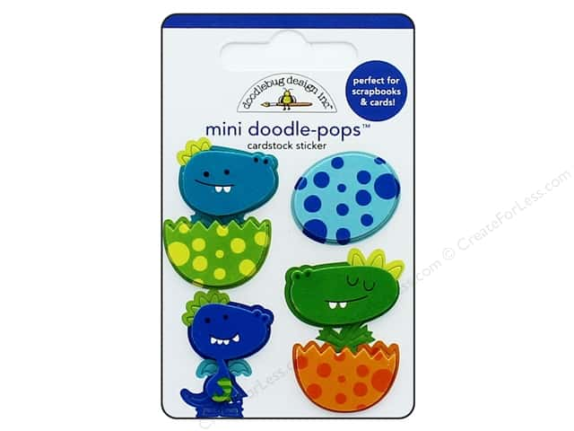 Doodlebug Collection Dragon Tails Doodle Pops Dragon Babies
