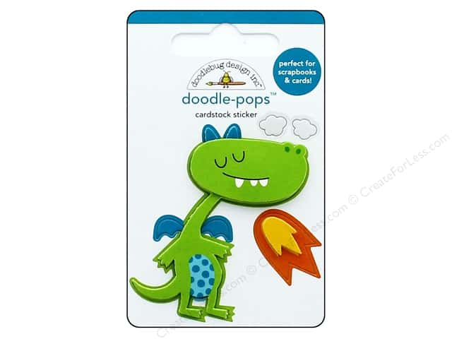 Doodlebug Collection Dragon Tails Doodle Pops Puff