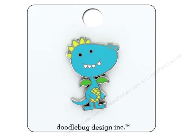 Doodlebug Collection Dragon Tails Enamel Pin Dragon