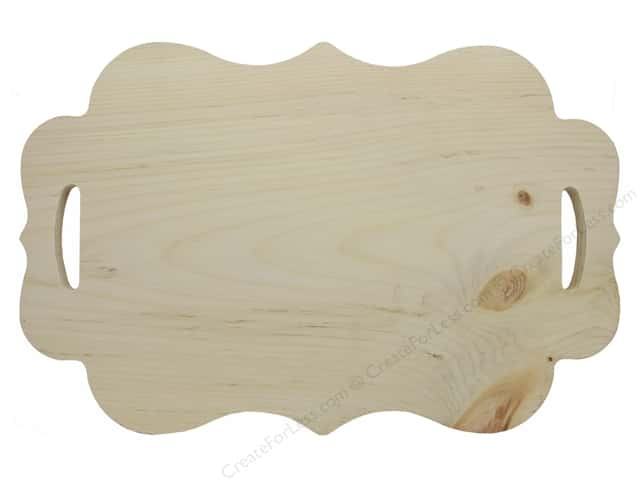 Walnut Hollow Wood Serving Board Pine Scallop